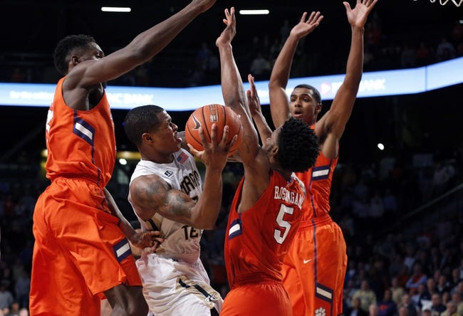 Clemson vs. Georgia Tech - 3/9/16 College Basketball Pick, Odds, and Prediction