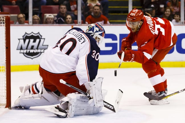 Columbus Blue Jackets vs. Detroit Red Wings - 3/8/16 NHL Pick, Odds, and Prediction