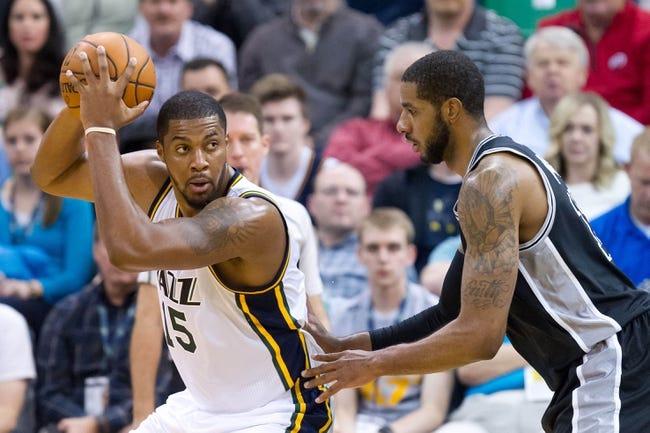 Utah Jazz vs. San Antonio Spurs - 4/5/16 NBA Pick, Odds, and Prediction