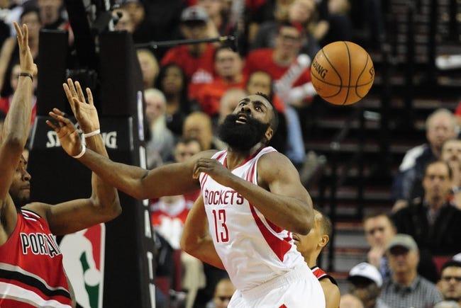 Houston Rockets vs. Portland Trail Blazers - 11/17/16 NBA Pick, Odds, and Prediction