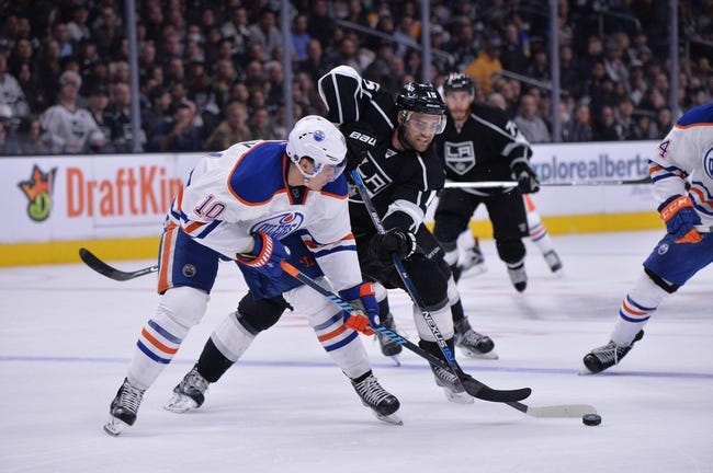 Kings vs. Oilers - 3/26/16 NHL Pick, Odds, and Prediction