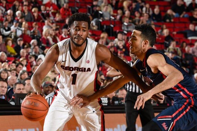 Georgia Bulldogs vs. Alabama Crimson Tide - 3/5/16 College Basketball Pick, Odds, and Prediction