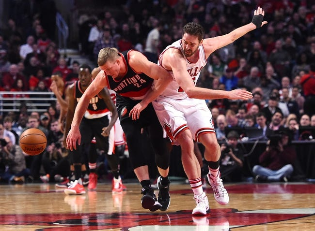 Portland Trail Blazers vs. Chicago Bulls - 11/15/16 NBA Pick, Odds, and Prediction