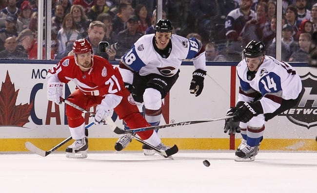 Red Wings, Avalanche look to the future