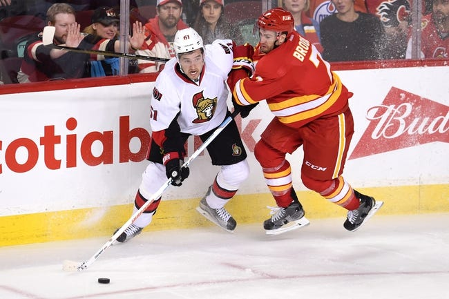 Calgary Flames vs. Ottawa Senators - 10/28/16 NHL Pick, Odds, and Prediction