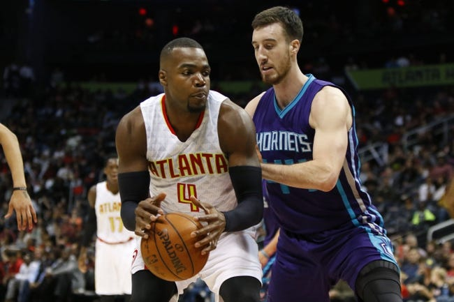 Charlotte Hornets vs. Atlanta Hawks - 11/18/16 NBA Pick, Odds, and Prediction