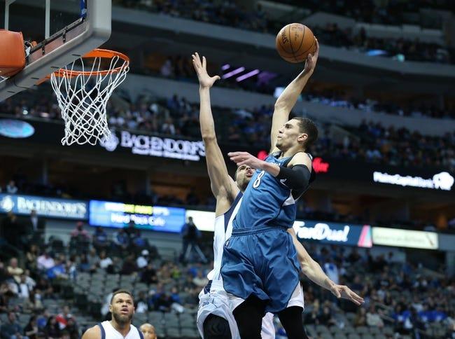 Timberwolves vs. Mavericks - 4/3/16 NBA Pick, Odds, and Prediction