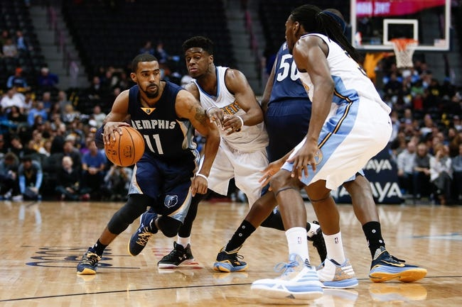 Grizzlies vs. Nuggets - 3/30/16 NBA Pick, Odds, and Prediction