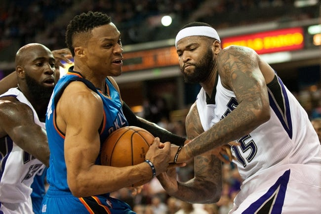 Kings vs. Thunder - 4/9/16 NBA Pick, Odds, and Prediction