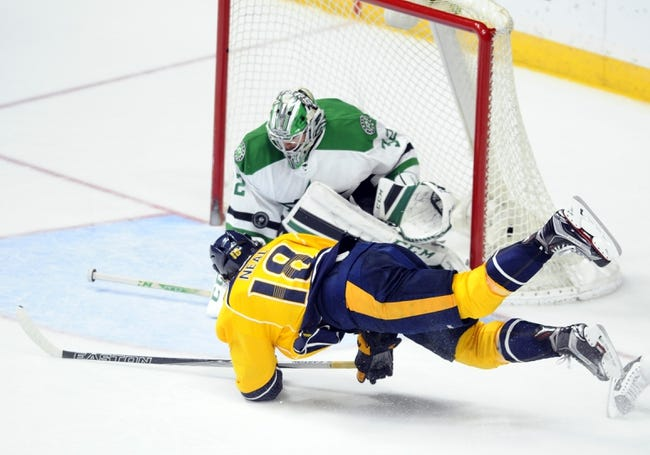 Dallas Stars vs. Nashville Predators - 3/29/16 NHL Pick, Odds, and Prediction