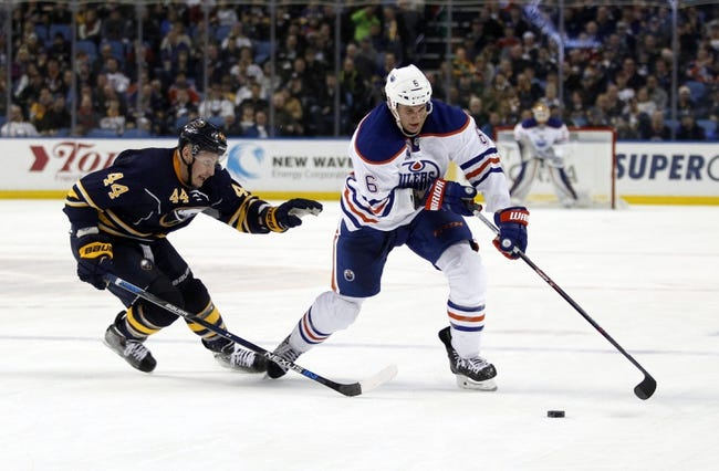 Edmonton Oilers vs. Buffalo Sabres - 10/16/16 NHL Pick, Odds, and Prediction