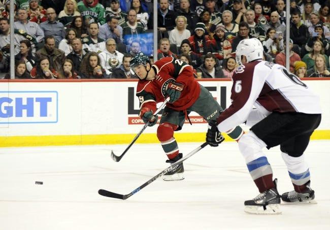 Avalanche vs. Wild - 3/26/16 NHL Pick, Odds, and Prediction