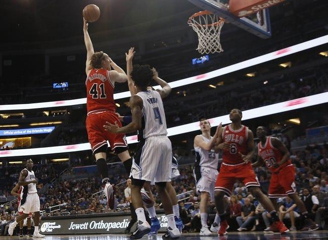 Magic vs. Bulls - 3/26/16 NBA Pick, Odds, and Prediction