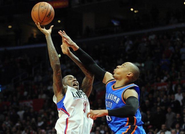Los Angeles Clippers at Oklahoma City Thunder - 3/9/16 NBA Pick, Odds, and Prediction