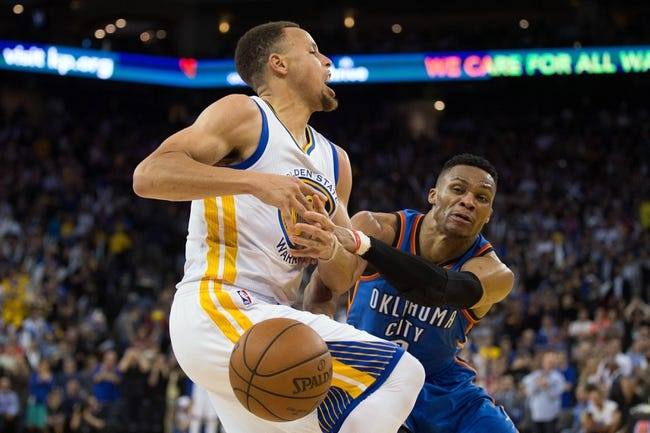 Golden State Warriors vs. Oklahoma City Thunder - 5/16/16 NBA Pick, Odds, and Prediction