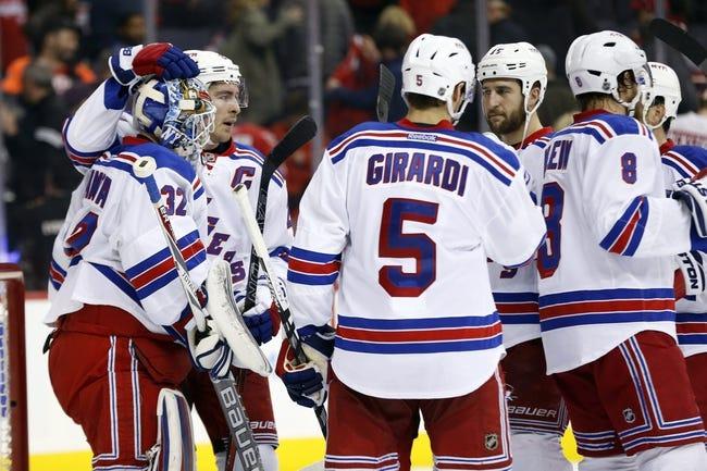 Washington Capitals vs. New York Rangers - 10/22/16 NHL Pick, Odds, and Prediction