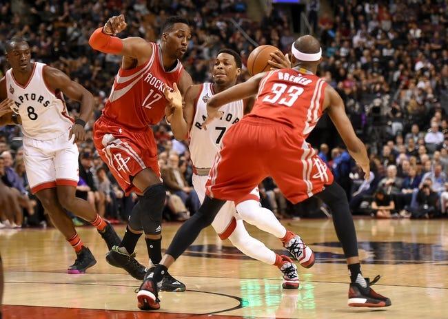 Rockets vs. Raptors - 3/25/16 NBA Pick, Odds, and Prediction
