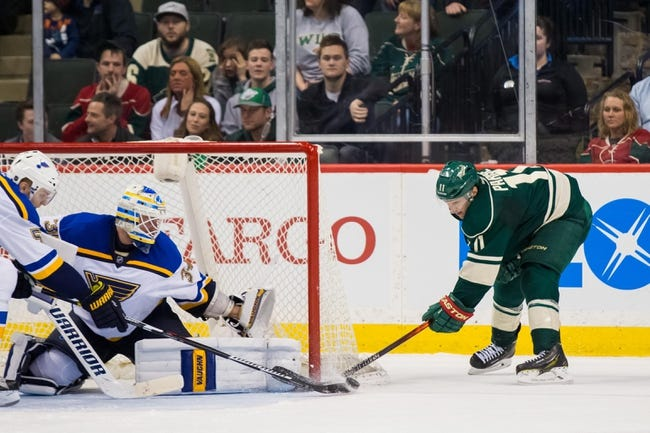 St. Louis Blues vs. Minnesota Wild - 10/13/16 NHL Pick, Odds, and Prediction