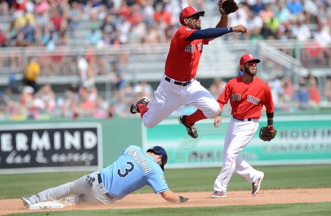 Rays at Red Sox - 4/19/16 MLB Pick, Odds, and Prediction