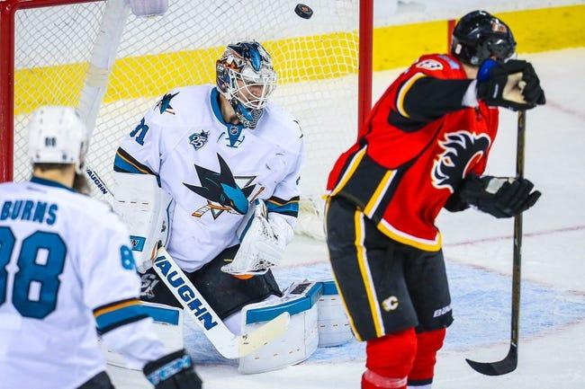 San Jose Sharks vs. Calgary Flames - 11/3/16 NHL Pick, Odds, and Prediction