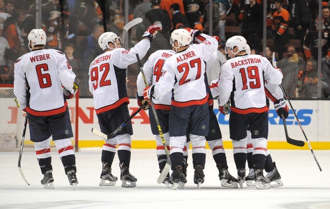 Washington Capitals vs. Anaheim Ducks - 4/10/16 NHL Pick, Odds, and Prediction