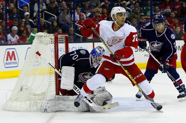 Columbus Blue Jackets vs. Detroit Red Wings - 3/17/16 NHL Pick, Odds, and Prediction