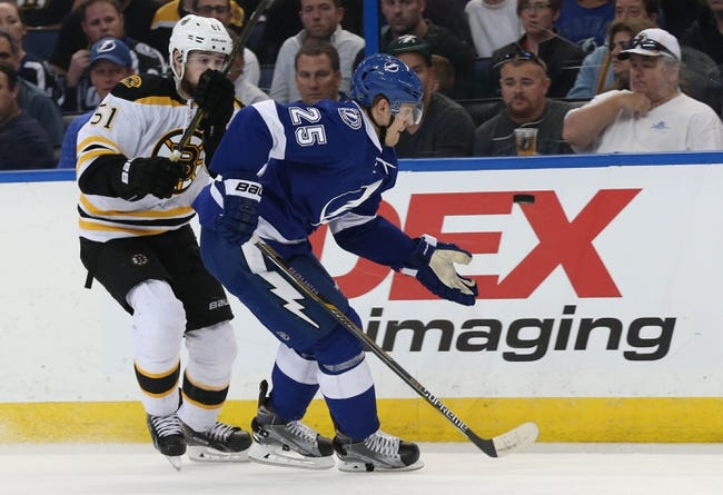 Boston Bruins vs. Tampa Bay Lightning - 11/27/16 NHL Pick, Odds, and Prediction