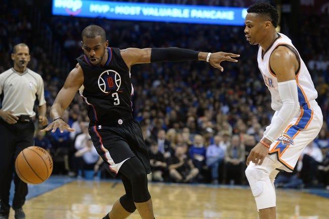 Los Angeles Clippers vs. Oklahoma City Thunder - 11/2/16 NBA Pick, Odds, and Prediction