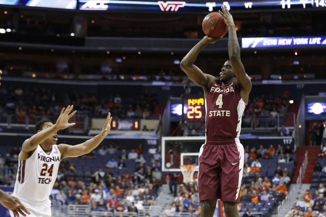 Florida State Seminoles vs. Davidson Wildcats - 3/15/16 College Basketball Pick, Odds, and Prediction