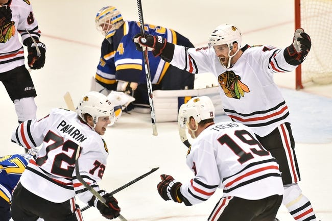 Chicago Blackhawks vs. St. Louis Blues - 4/7/16 NHL Pick, Odds, and Prediction