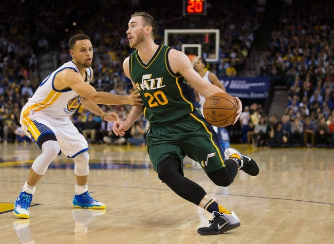 Utah Jazz vs. Golden State Warriors - 3/30/16 NBA Pick, Odds, and Prediction