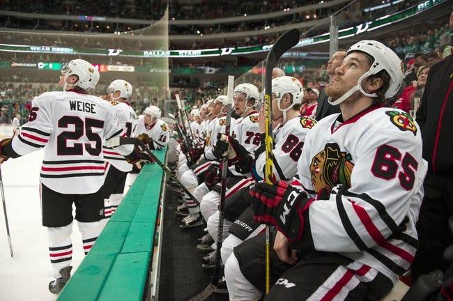 Chicago Blackhawks vs. Dallas Stars - 3/22/16 NHL Pick, Odds, and Prediction