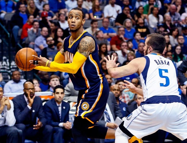 Indiana Pacers vs. Dallas Mavericks - 10/26/16 NBA Pick, Odds, and Prediction