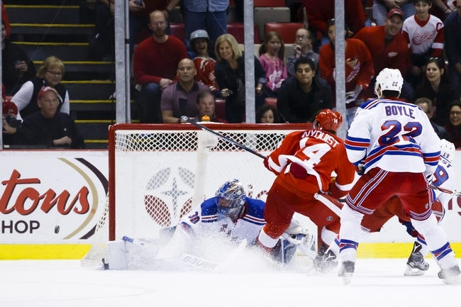 Rangers vs. Red Wings - 4/9/16 NHL Pick, Odds, and Prediction