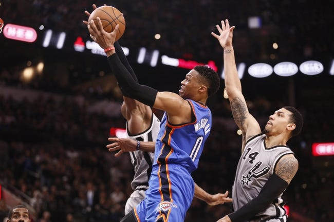 Thunder vs. Spurs - 3/26/16 NBA Pick, Odds, and Prediction