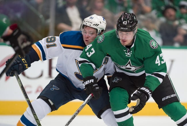 Blues at Stars Game 1 - 4/29/16 NHL Pick, Odds, and Prediction