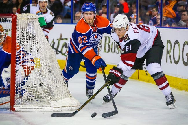 Coyotes vs. Oilers - 3/22/16 NHL Pick, Odds, and Prediction