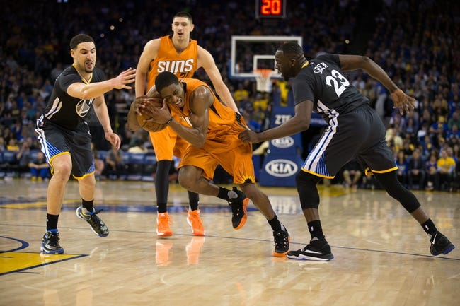 Phoenix Suns vs. Golden State Warriors - 10/30/16 NBA Pick, Odds, and Prediction