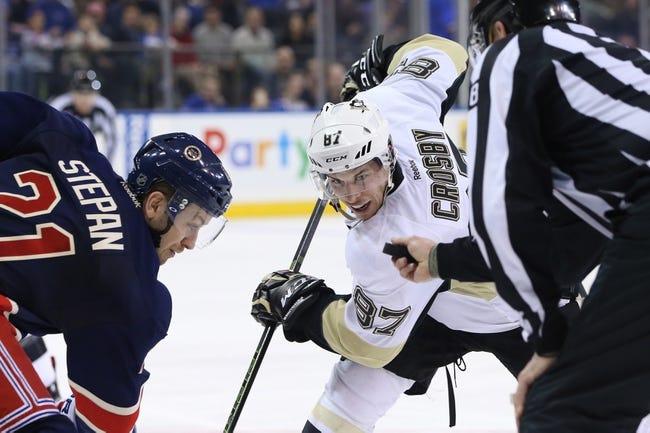 New York Rangers vs. Pittsburgh Penguins - 3/27/16 NHL Pick, Odds, and Prediction