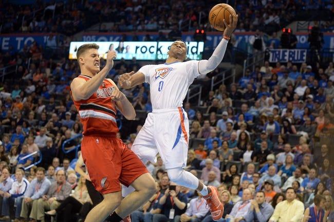 Trail Blazers vs. Thunder - 4/6/16 NBA Pick, Odds, and Prediction