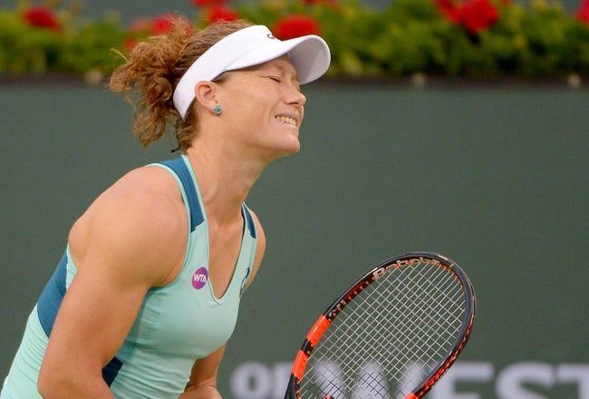 Samantha Stosur vs. Caroline Garcia 2016 Strasbourg Open Quarterfinals Pick, Odds, Prediction