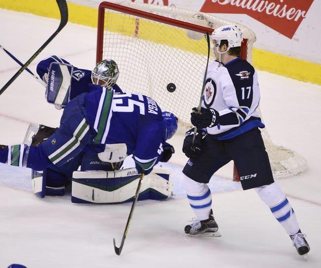 Winnipeg Jets vs. Vancouver Canucks - 3/22/16 NHL Pick, Odds, and Prediction