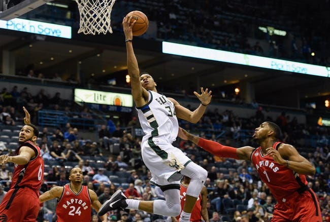 Milwaukee Bucks vs. Toronto Raptors - 11/25/16 NBA Pick, Odds, and Prediction