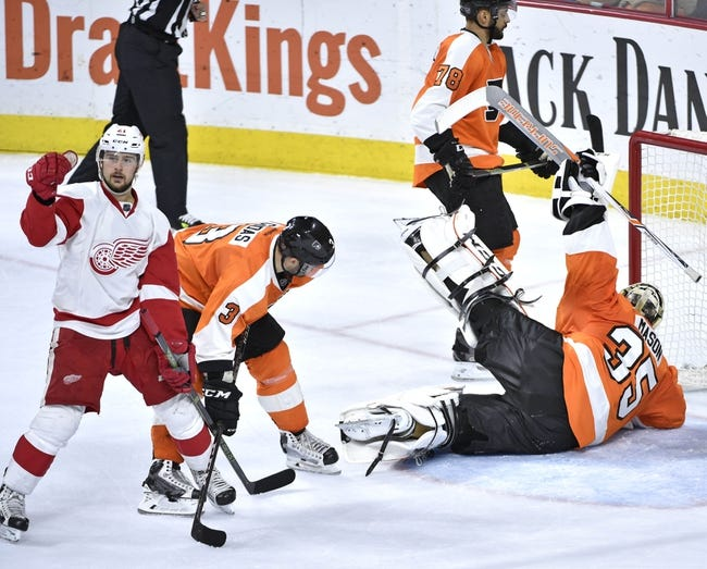 Detroit Red Wings vs. Philadelphia Flyers - 4/6/16 NHL Pick, Odds, and Prediction