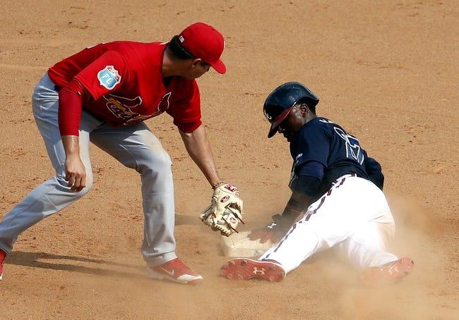Atlanta Braves vs. St. Louis Cardinals - 4/8/16 MLB Pick, Odds, and Prediction