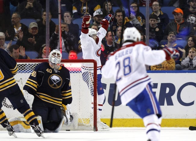 Buffalo Sabres vs. Montreal Canadiens - 10/13/16 NHL Pick, Odds, and Prediction