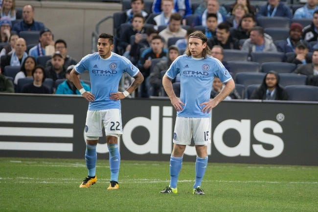 New York City FC vs. Chicago Fire MLS Pick, Odds, Prediction - 4/10/16