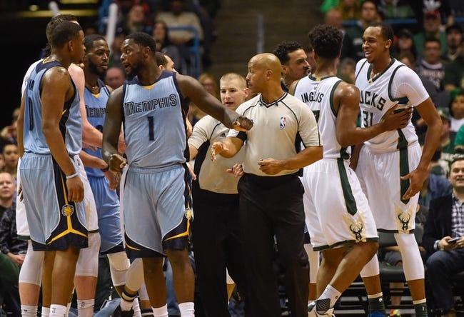 Milwaukee Bucks vs. Memphis Grizzlies - 11/12/16 NBA Pick, Odds, and Prediction