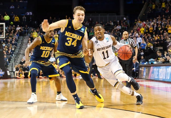 Notre Dame vs. Stephen F. Austin - 3/20/16 NCAA Tournament College Basketball Pick, Odds, and Prediction