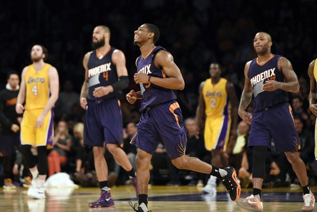 Suns vs. Lakers - 3/23/16 NBA Pick, Odds, and Prediction